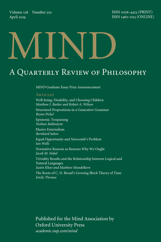 Journal Cover - Title in bronze and white lettering against a dark green background.