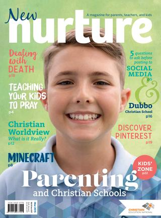 Journal Cover - Title in white and blue lettering over a picture of a smiling young boy against a light green background.