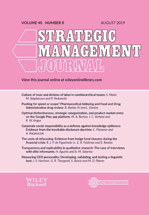 Journal Cover - Title in white lettering against a pink background with a thick, light pink section in the center containing text in black lettering.
