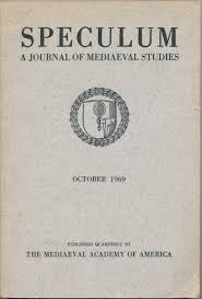 Journal Cover - Title in black lettering above a small shield shape surrounded by a ring of laurels against a parchment background.