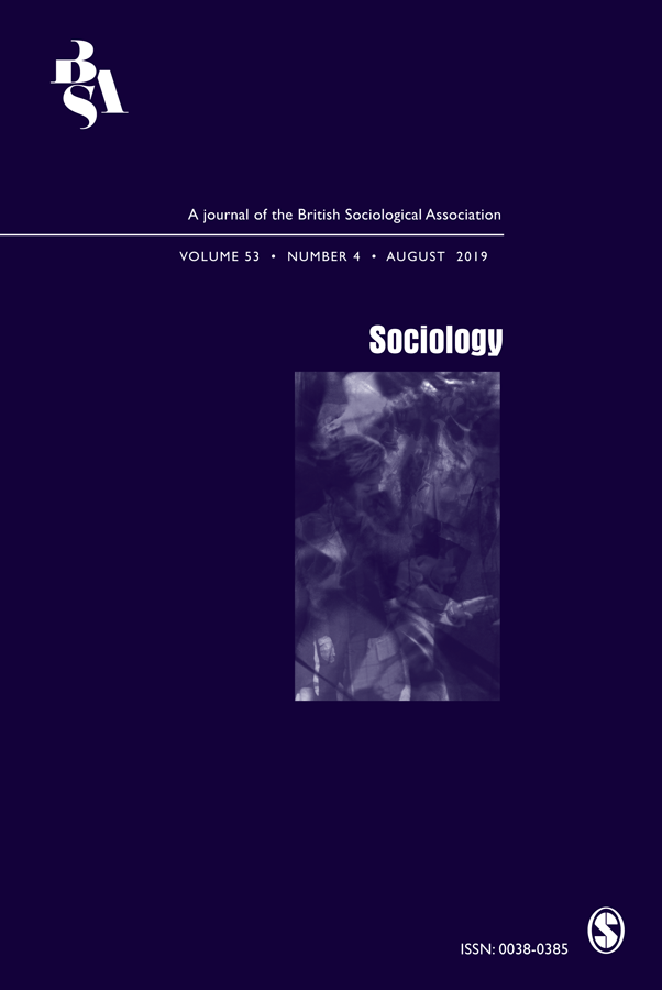 Journal Cover - Title in white lettering above a small, abstract image of purple and white shades against a dark purple background.