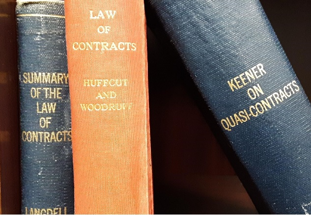 Old contract law classic books