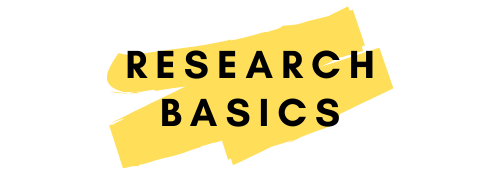 Research Basics (Link)