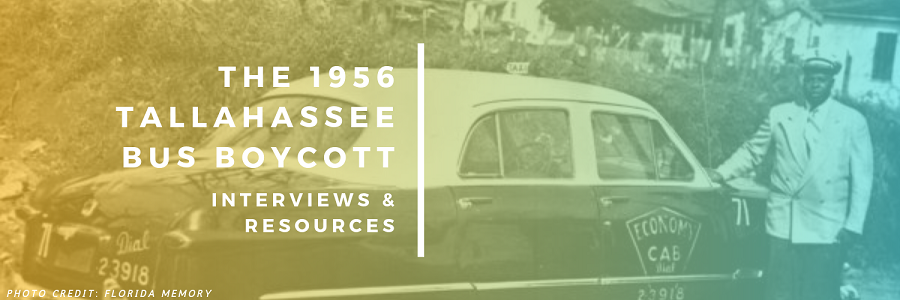 Header Image (The 1956 Tallahassee Bus Boycott: Interviews and Resources)