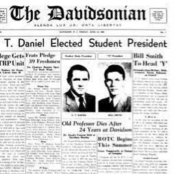 Davidsonian Newspaper