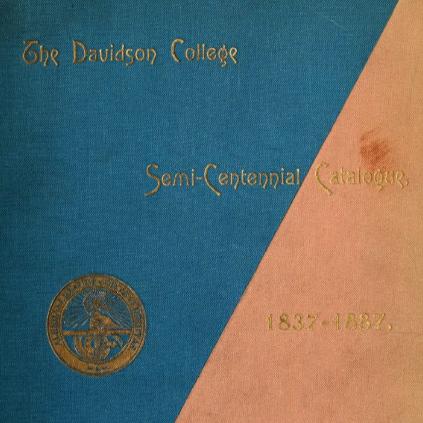 1837-1887 Semi-Centennial Catalog Front Cover