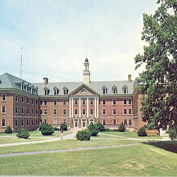 Belk Hall Dormitory Postcard