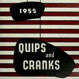 Quips and Cranks 1955 Book Front Cover