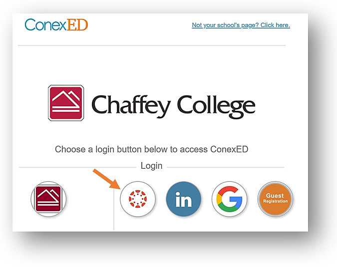Chaffey College Cranium cafe login