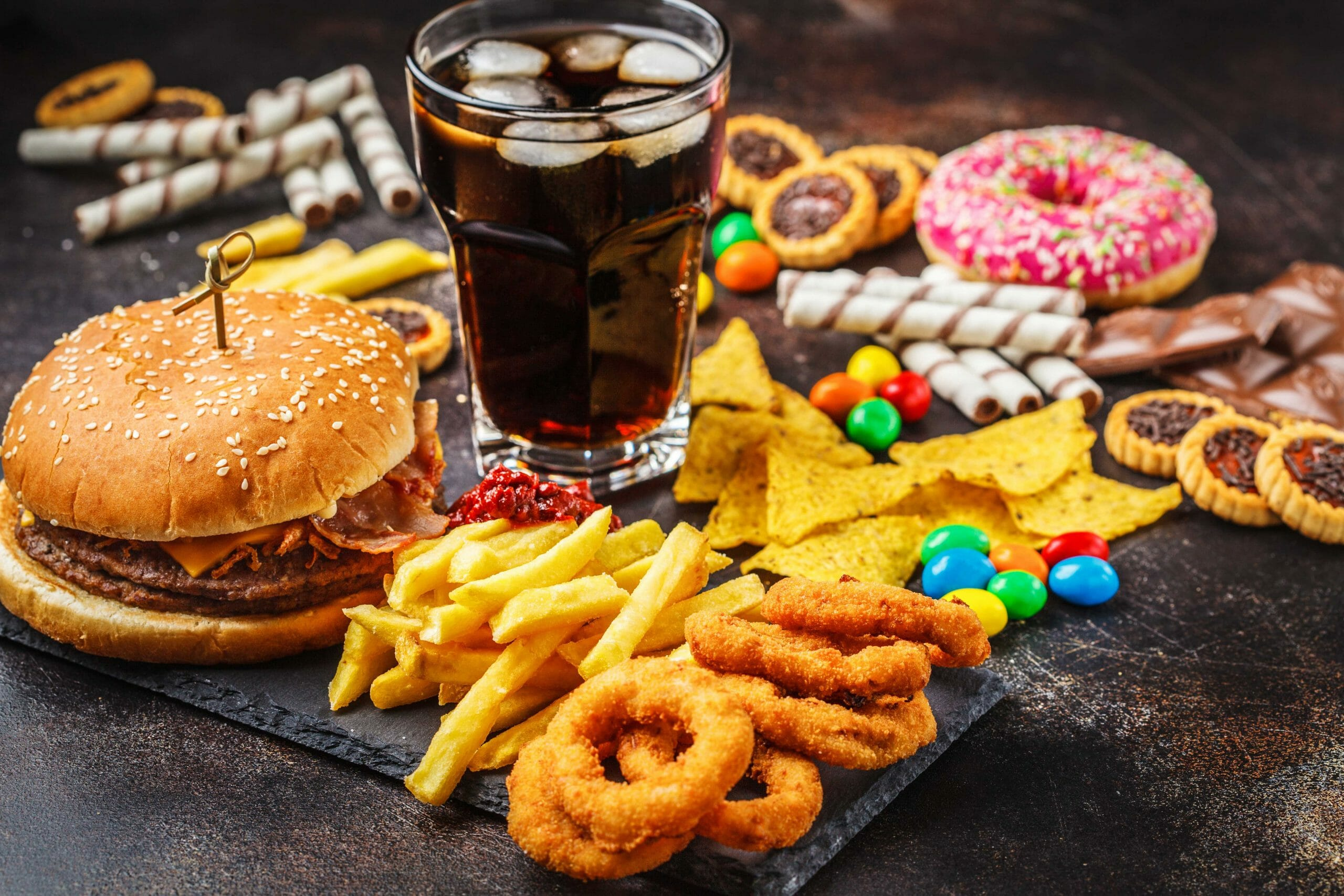 fast food and junk food images