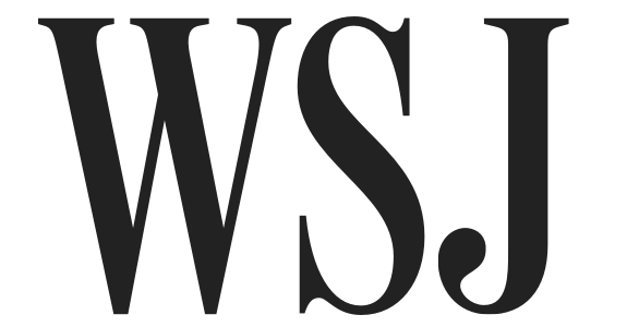 wall street journal on computer screen