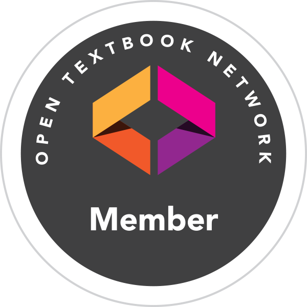 Open textbook network member logo