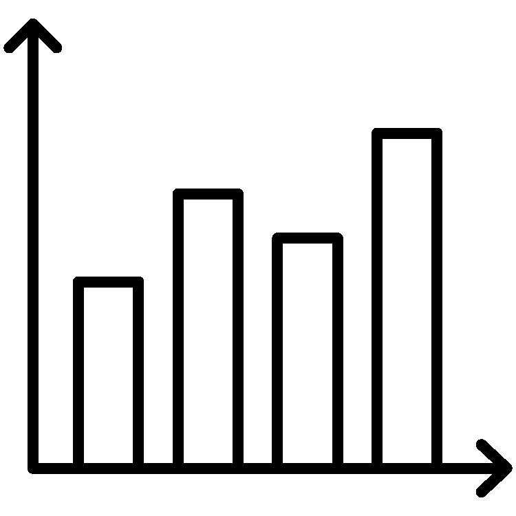 icon of a graph