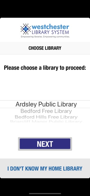 Choose Library
