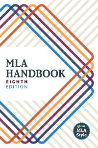 MLA handbook 8th ed cover