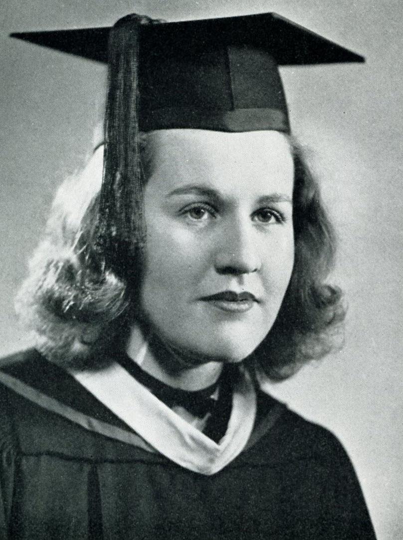 Mary Clark Senior Portrait, 1941