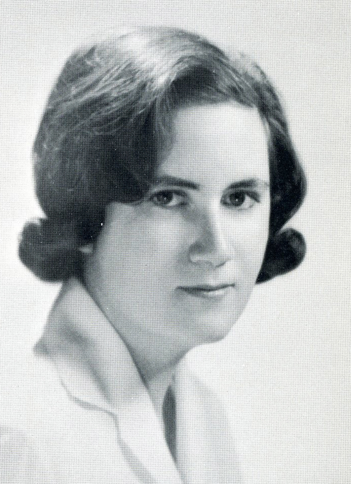 Louise Doherty Senior Portrait, 1963
