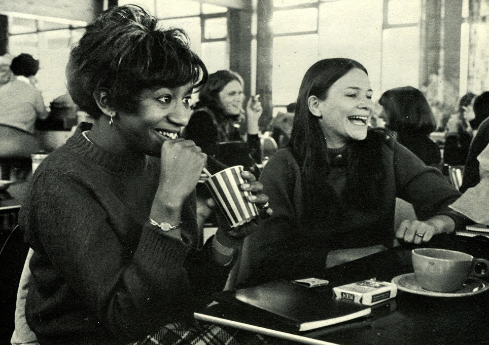 Emmanuel Students in Cafeteria, 1968-1969