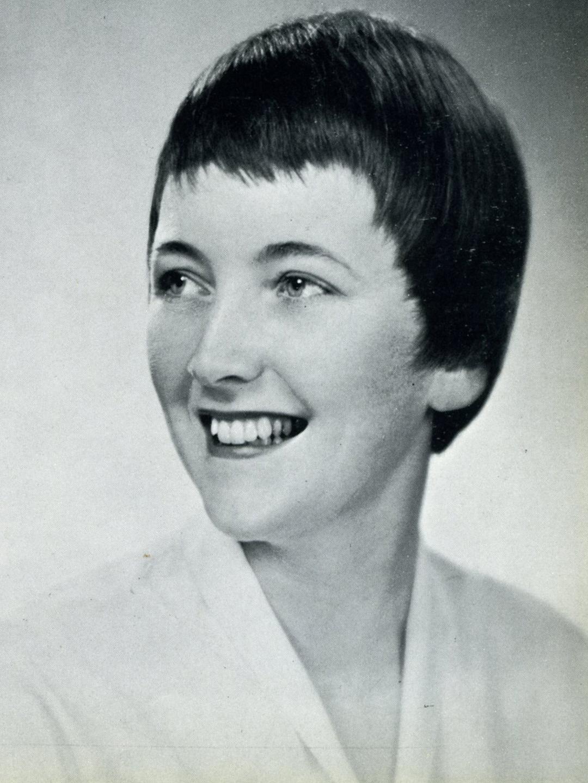 Mary Friel Senior Poretrait, 1960