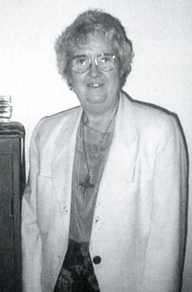 Sr. Patricia Johnson, SND, 1994-1995