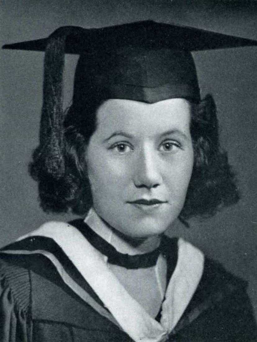 Mary McGrory Senior Portrait, 1939