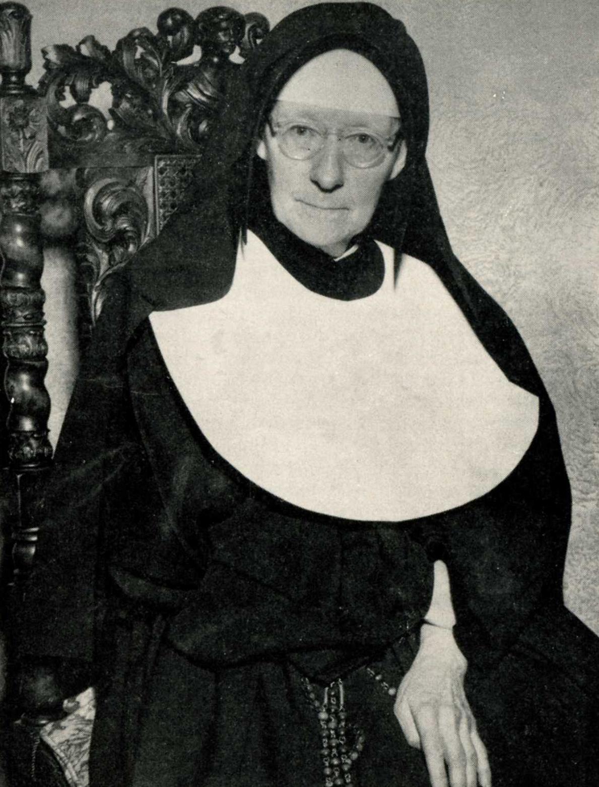 Sr. Wilfrid de Sacre Coeur Parsons, SND, c.1954