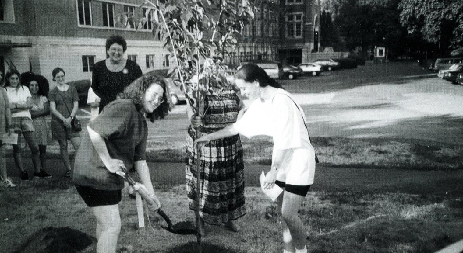 Tree Planting Ceremony, 1995-1996