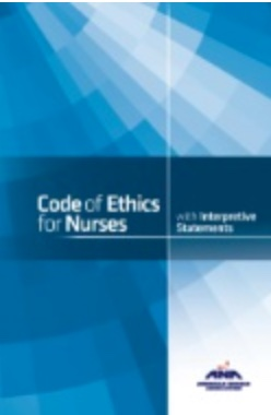 Cover Code of Ethics for Nurses with Interpretive Statements