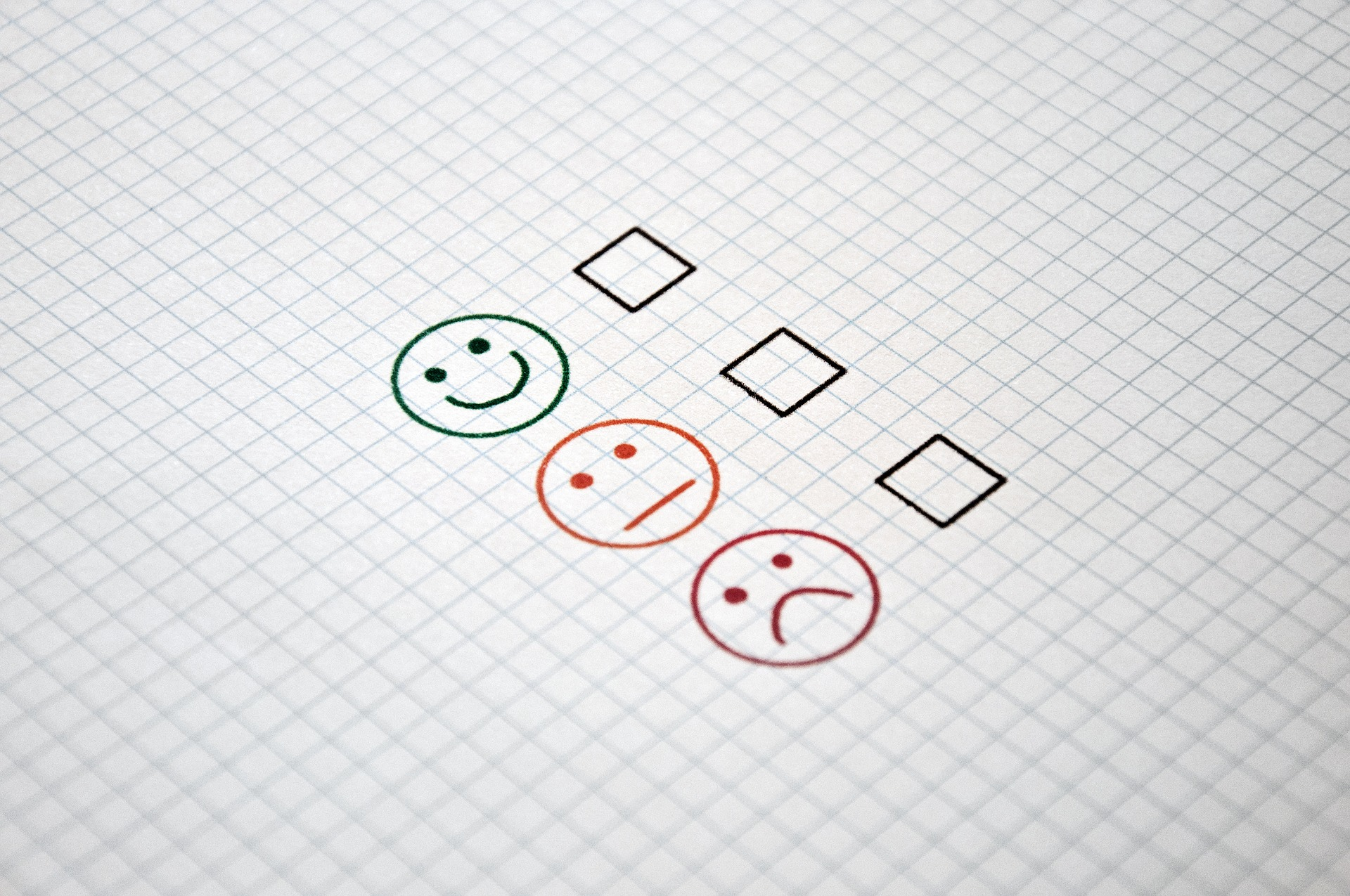 image of a satisfaction survey