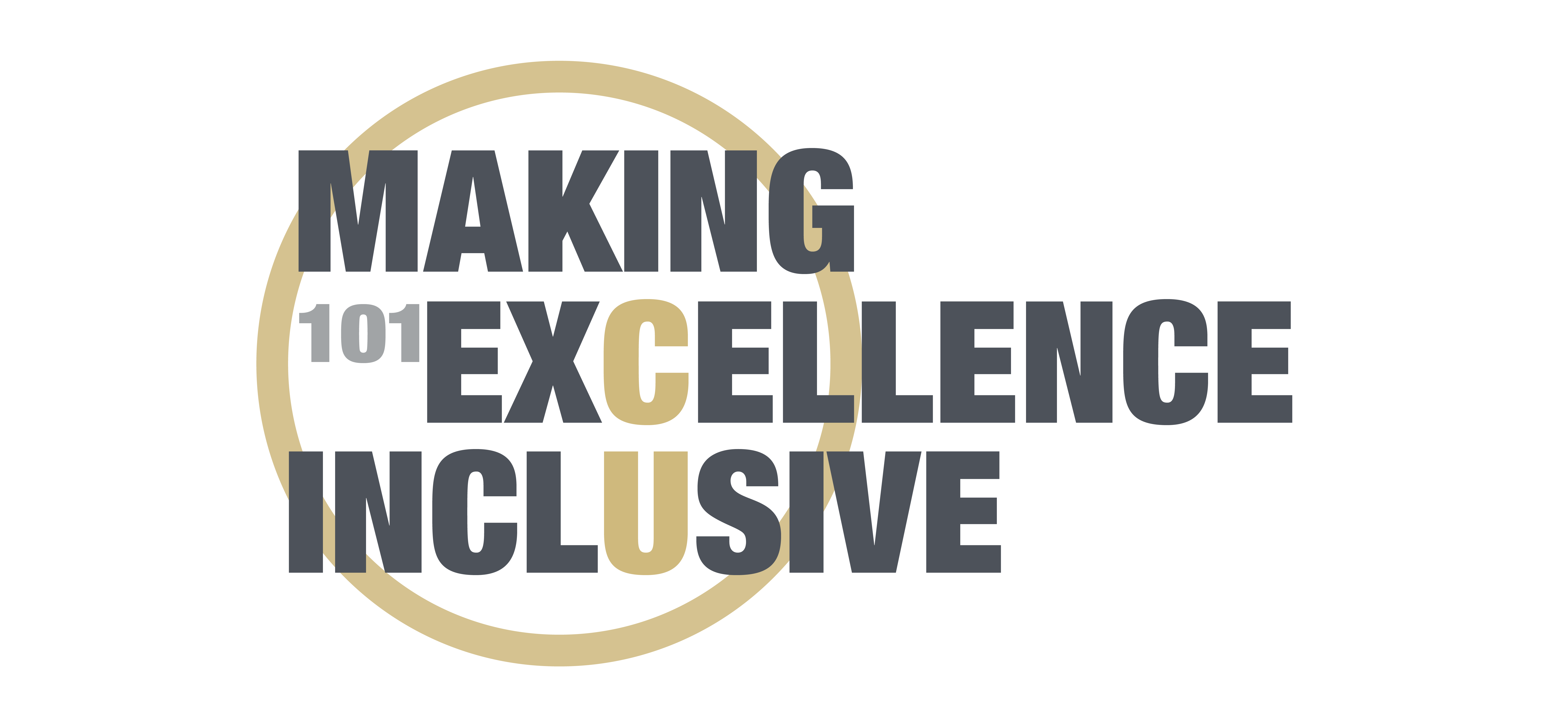 Making Excellence Inclusive 101 Logo