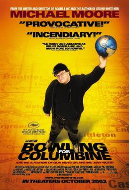 DVD cover: Bowling for Columbine