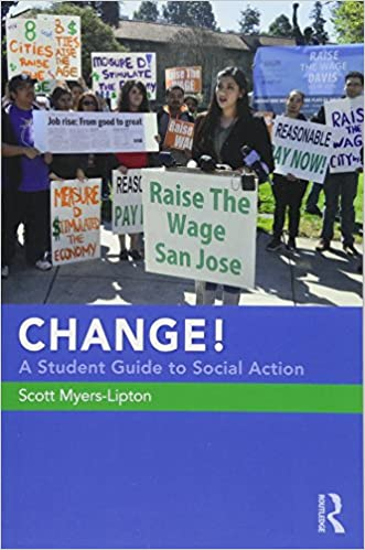 Book cover: Change! : a student guide to social action