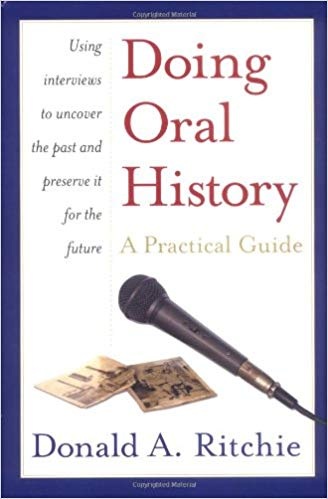 Book cover: Doing Oral History by Donald A. Ritchie