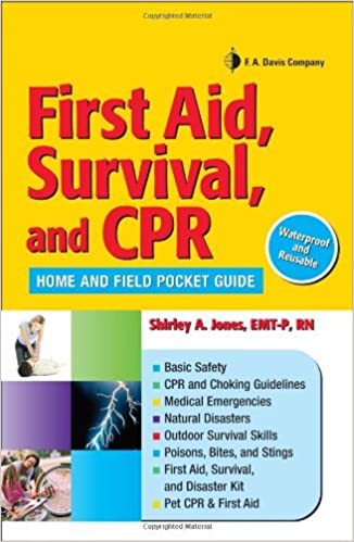 Book cover: First Aid, Survival, and CPR home and field pocket guide
