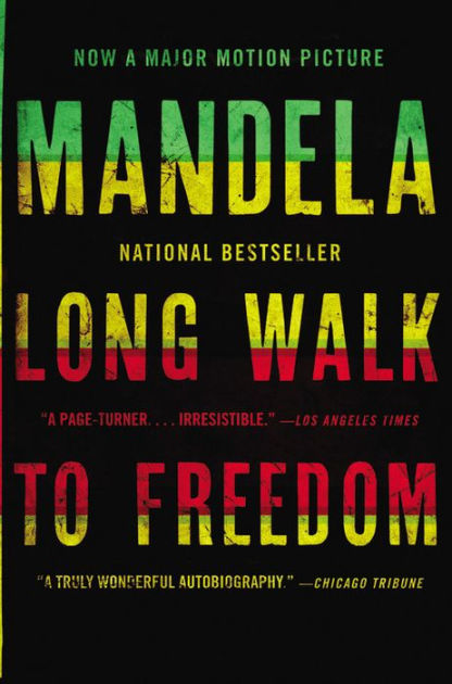 Book cover - Long Walk to Freedom: The Autobiography of Nelson Mandela