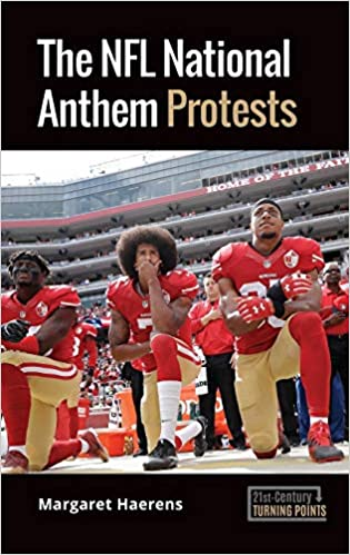 Book cover: The NFL National Anthem Protests