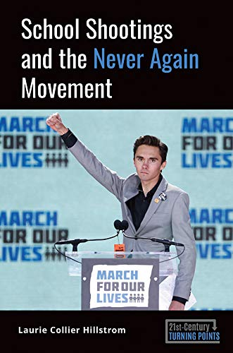 Book cover: School shootings and the Never Again Movement