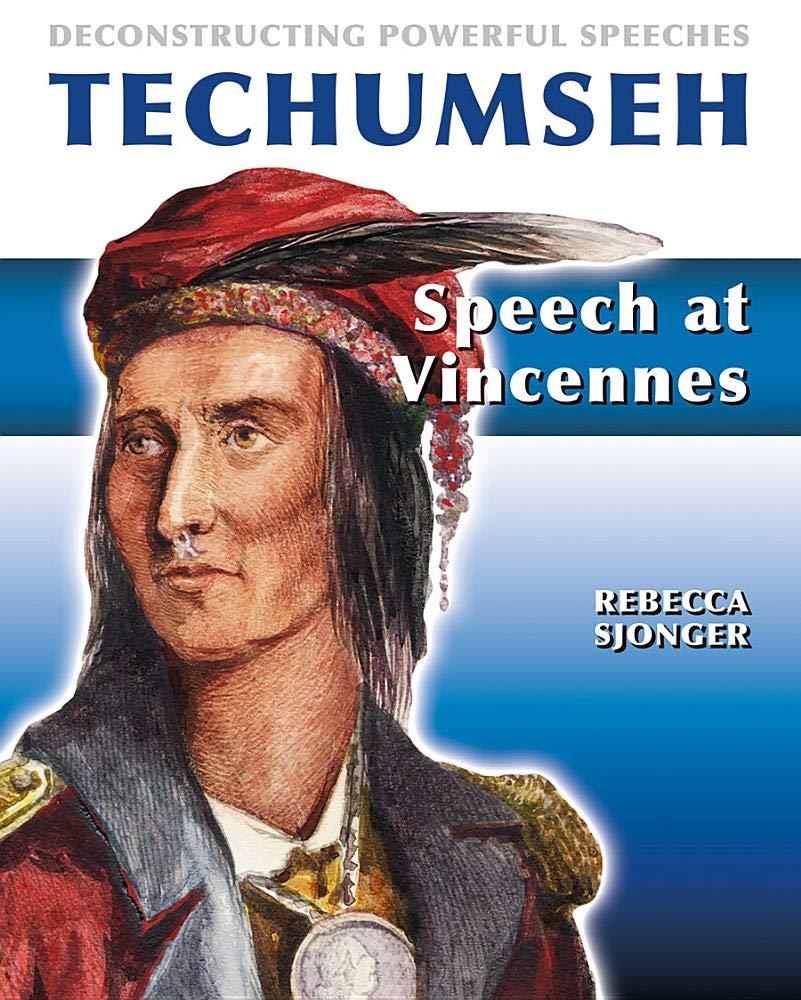 Tecumseh: Speech at Vincennes