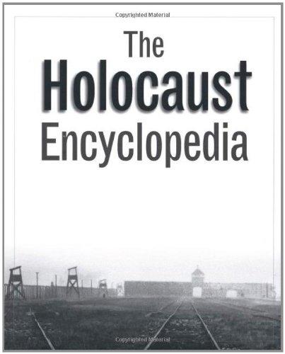 Book cover: The Holocaust Encyclopedia