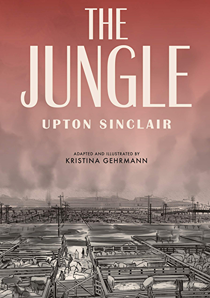 Book cover: The Jungle (graphic novel adaptation)
