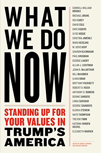 Book cover - What We Do Now: Standing Up for Your Values in Trump's America