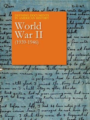 World War II (1939-1946)
