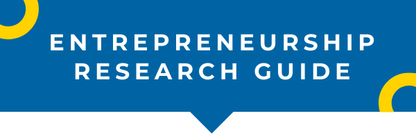 Entrepreneurship Research Guide