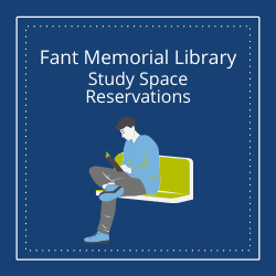 Fant Memorial Library Study Space Reservations