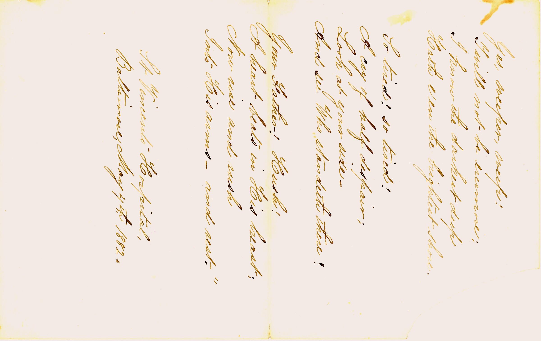 Danske Dandridge poem, Hope