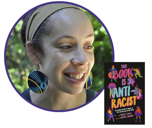 "Tiffany Jewell, author of ""This Book Is Anti-Racist"