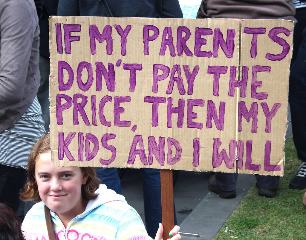 If my parents don't pay the price, my children and I will