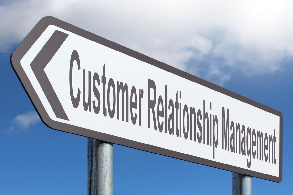 CC: customer Relationship Management street sign