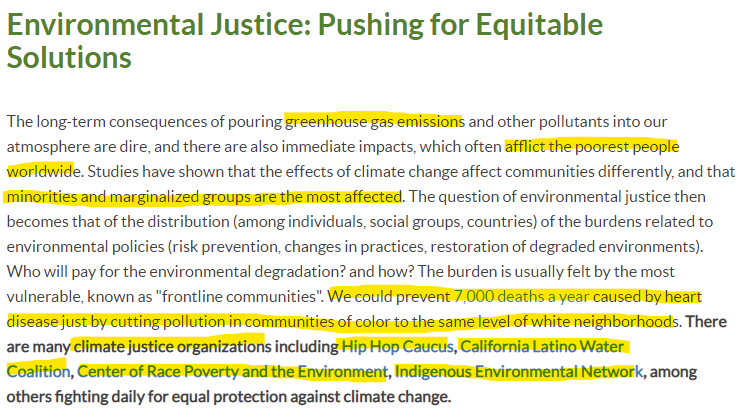 Green America article provides leads to environmental justice organizations