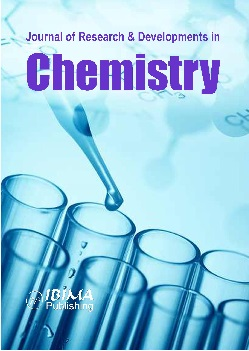 Scholarly Journal: Journal of Research & Developments in Chemistry